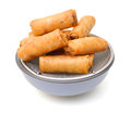 Egg Rolls Royalty Free Stock Photo