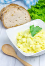 Egg salad in a bowl Royalty Free Stock Photo