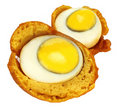 Egg snack Royalty Free Stock Images