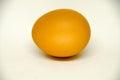 Egg on white background Royalty Free Stock Photo