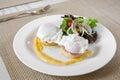 Eggs benedict Royalty Free Stock Photo