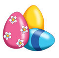 Eggs of Easter Royalty Free Stock Photos