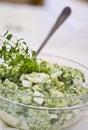 Eggs salad Royalty Free Stock Image