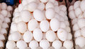Eggs for sale at the local market in Bangkok Royalty Free Stock Photo