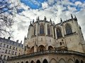 Egils Paroisse Catholic Saint Nizier, Lyon old town, France Royalty Free Stock Photo