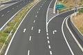 Egnatia motorway in greece interchange on Stock Image