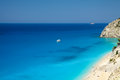 Egremni beach, Lefkada, Greece Royalty Free Stock Photo