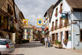 Eguisheim village in france is a commune alsace north eastern since is included into the list of the most beautiful villages Royalty Free Stock Images