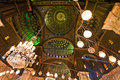 Egypt, Cairo. Mohammed Ali Mosque. Royalty Free Stock Photo