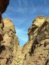 Egypt coloured canyon sharm el sheikh Royalty Free Stock Photography