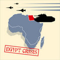 Egypt crisis Royalty Free Stock Photography