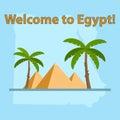 Egypt, map of Egypt, Egyptian pyramids