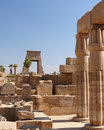 Egypt, Temples of Karnak Stock Photography