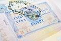 Egypt visa Royalty Free Stock Photo
