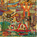 Egyptian abstraction Stock Photography