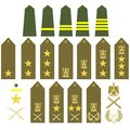 Egyptian army insignia Stock Images