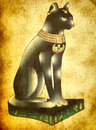 Egyptian cat Bastet Stock Photo