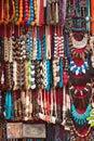 Egyptian ethnic costume jewellery Royalty Free Stock Photo