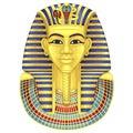 Egyptian golden pharaohs mask.Pharaoh.