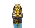 Egyptian golden pharaohs mask Royalty Free Stock Photo