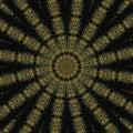 Egyptian Kaleidoscope Mandala