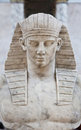 Egyptian model Royalty Free Stock Photo