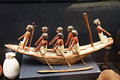 Egyptian model boat Royalty Free Stock Photo