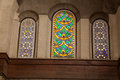 Egyptian Mosque Windows Royalty Free Stock Photo