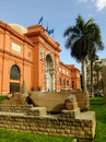 Egyptian museum cairo in egypt Stock Images