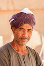 Egyptian near Abu Simbel Temple, Egypt Royalty Free Stock Photo