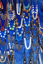 Egyptian necklaces Stock Photos