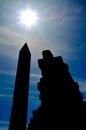 Egyptian Obelisk Royalty Free Stock Photo