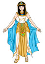 Egyptian Princess Stock Images