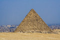 Egyptian pyramids, monuments of humanity. Royalty Free Stock Photo