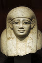 Egyptian Sculpture of Pharaoh Royalty Free Stock Photography