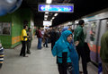Egyptian Subway Royalty Free Stock Photo