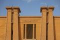 Egyptian temple Royalty Free Stock Photo