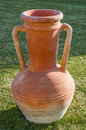 Egyptian Terracotta Jar Royalty Free Stock Photo