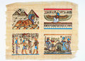 Egyptisk papyrus Royaltyfria Bilder