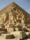 Egyptisk pyramid Arkivbild
