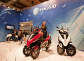 EICMA 2010 - Piaggio stand Royalty Free Stock Images