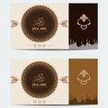 Eid al adha Islamic flyer brochure design with ornate