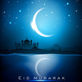 Eid Mubarak background. Royalty Free Stock Photos