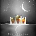 Eid Mubarak background. Royalty Free Stock Images