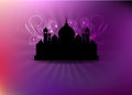 Eid mubarak beautiful ramadan card and background Stock Photo