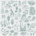 Doodle element eid mubarak