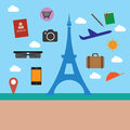 Eifel Tower And Object Travel