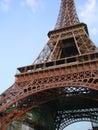 Eiffel paris turnerar Arkivfoto