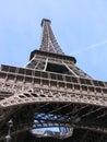Eiffel Tower Base Stock Photography