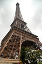 Eiffel tower the famous in paris france Stock Photography